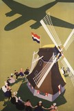 TITLE : Windmill and plane