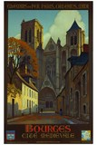 TITLE : Bourges medieval city